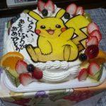 誕生日ケーキ キャラクター