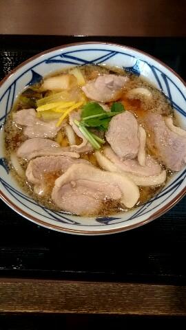 鴨ねぎうどん 丸亀製麺