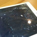 iPad Air ガラス割れ