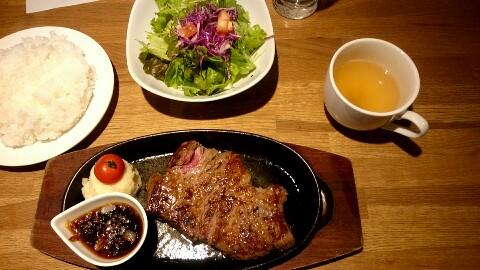 サーロインステーキ 肉バル
